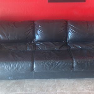 Leather Couch And Chair for Sale in Fountain Hills, AZ