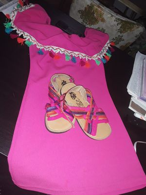 Mexican style dress nd shoes for Sale in Wenatchee, WA