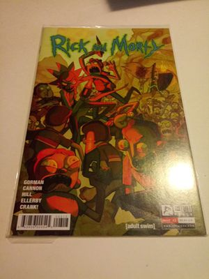 Rick and morty #3,4,5,6,7,8,9,10 comic books for Sale in Chicago, IL