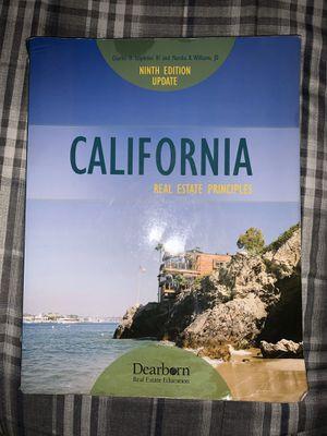 California Real Estate Principles 9th Edition Update for Sale in Santa Maria, CA