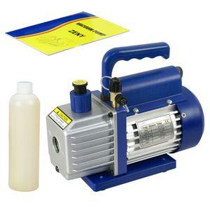 3.5CFM Rotary Vane Deep Vacuum Pump 1/4HP AC Air Tool R410a R134 HVAC Refrigeran for Sale in Lake Elsinore, CA