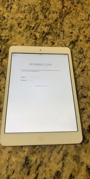 iPad mini 5, ACTIVATION LOCK for Sale in Pembroke Pines, FL