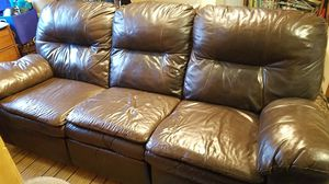 Reclining couch for Sale in Seattle, WA