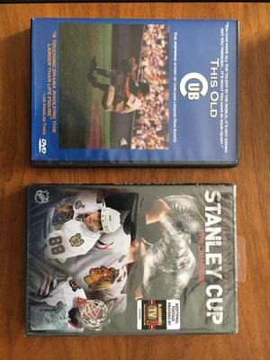 Cubs/Hawks DVD's for Sale in Geneva, IL
