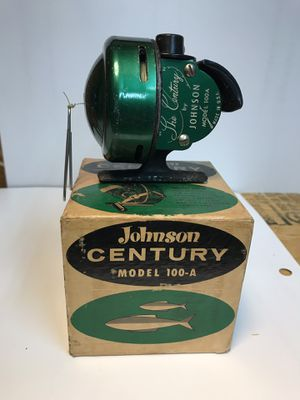 Vintage Johnson Century Model 100-A fishing reel for Sale in Dallas, TX