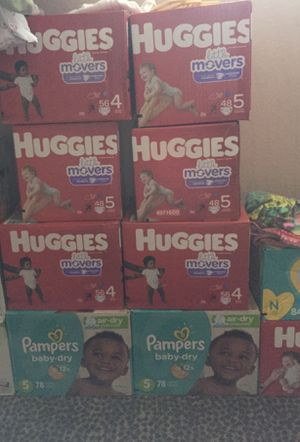 Huggies and Pampers for Sale in Garland, TX