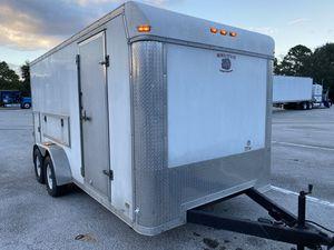 2007 HEAVY DUTY ENCLOSED TRAILER 7 X16 for Sale in West Palm Beach, FL
