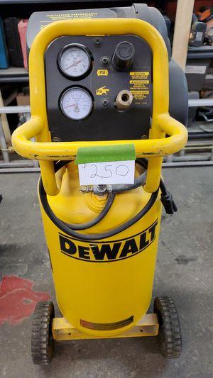 Dewalt air compressor for Sale in New Brighton, PA