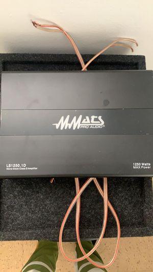 "1250 watts Matts amplifier & 2 12"" Matts speakers for Sale in Delray Beach, FL"