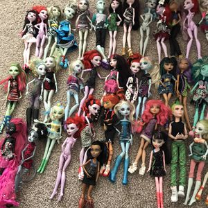 Monster High Dolls Lot for Sale in Falls Church, VA
