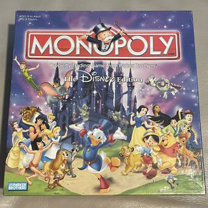 Monopoly Board Game Disney Edition for Sale in San Diego, CA
