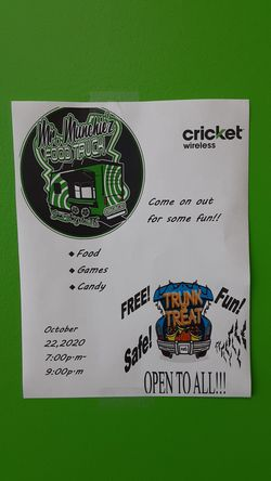 Halloween fun coming up on the 22nd at Cricket wireless on 29th street. for Sale in San Angelo,  TX