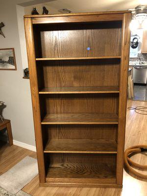 Vintage Oak Custom Bookshelf for Sale in St. Petersburg, FL