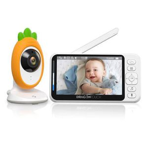 """Video Baby Monitor, Dragon Touch E40 4.3"""" HD LCD Display with Camera, Two-Way Audio, Invisible LED Night Vision, VOX Mode, Split Screen, 960ft Range, for Sale in San Dimas, CA"""