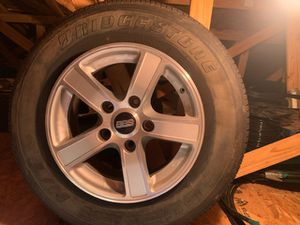 Toyota tundra 2019 BBs rims in tires 4 set $1150 for Sale in Land O Lakes, FL