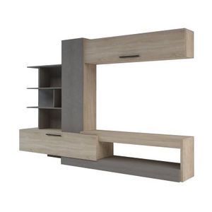 ROOMY TV WALL UNIT TV STAND 65'tv BRAND NEW IN BOXES for Sale in Fort Lauderdale, FL