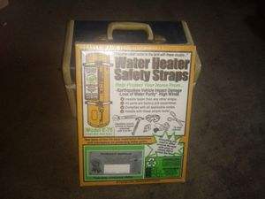 Water heater straps for Sale in Manteca, CA