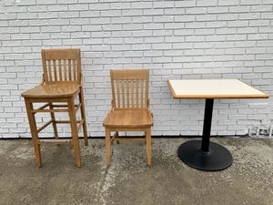 Restaurant dining tables and chairs for Sale in Anchorage, AK