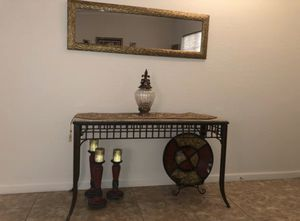 Mirror & Console Table for Sale in Surprise, AZ