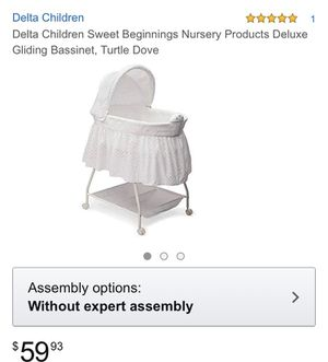 Delta Baby Bassinet for Sale in Aspen Hill, MD