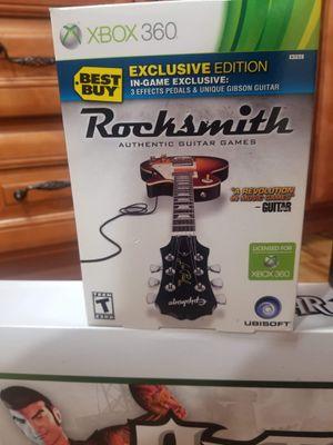 Rocksmith XBOX 360 Brand New Sealed for Sale in Hermitage, TN