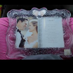 Real Crystal Wedding Picture Frame for Sale in Oklahoma City, OK