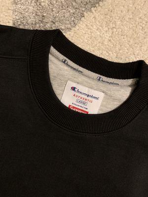 Supreme and champion sweatshirt for Sale in Washington, DC