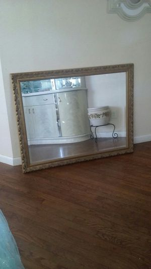 Very Large Heavy Mirror 46 inches wide X 36 inches high for Sale in Modesto, CA