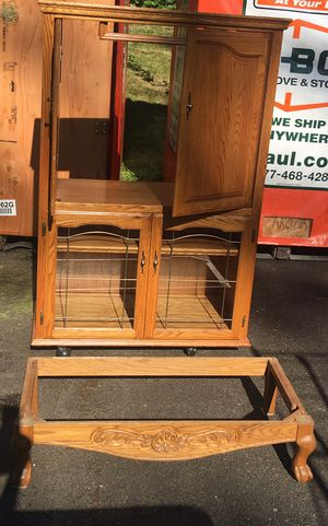 Armoire- Perfect for Entertainment Center or Crafts for Sale in Gig Harbor, WA