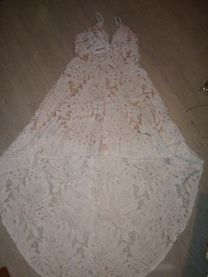 White Lace dress new small for Sale in Cicero, IL
