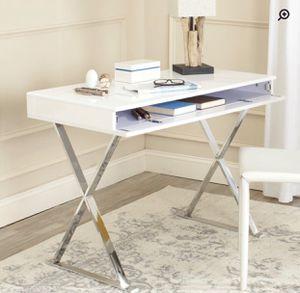 White glossy, lacquer aesthetic finish desk. BRAND NEW! for Sale in Nashville, TN