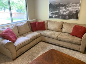 Sectional Couch - Tan/Camel Color for Sale in Bothell, WA