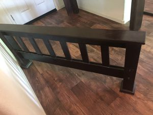 Bed frame (size full) for Sale in Dinuba, CA