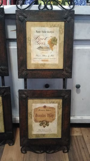 Pamela Gladding French Wine Wall Decor for Sale in Riverside, CA