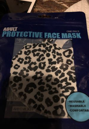 Leopard print facemask for Sale in Parkville, MD