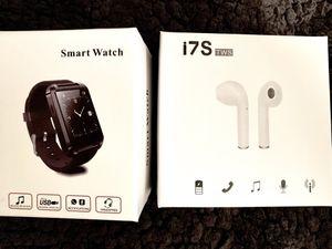 Smart watch & wireless earbuds for Sale in Fife, WA