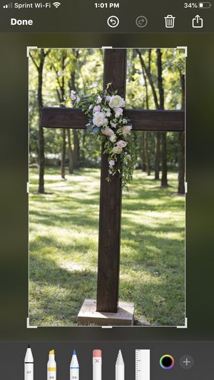 Wooden Cross 7-8 foot tall for Sale in Knightdale, NC