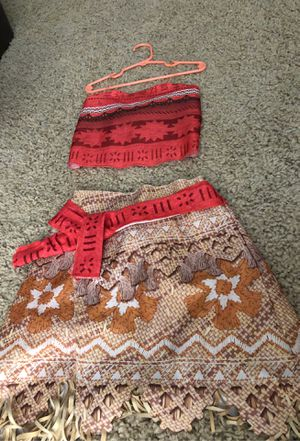 Moana Dress up outfit-$15 for Sale in Santa Rosa, CA