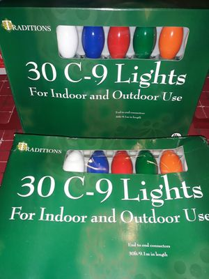 60 C-9 LIGHTS for Sale in Fresno, CA