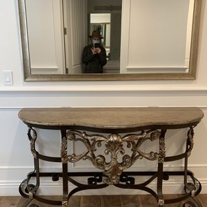 Console and Mirror for Sale in Los Angeles, CA