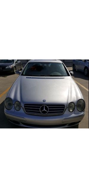 02 Mercedes CL 500. For parts only for Sale in Cranberry Township, PA