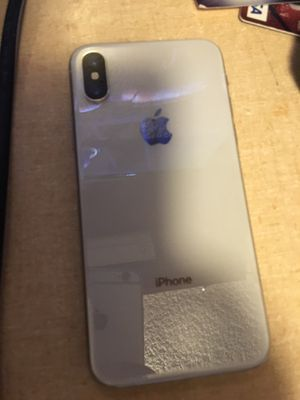 iPhone X with Headphones and Charger for Sale in Sterling, KS