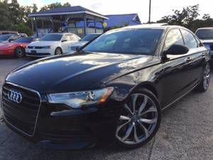 AUDI A6 2014 2.0T QUATRO PREMIUM PLUS 6999DOWN*$380MONTH W/ INS INCLD - $16998 (7414 N Florida Ave. Tampa, FL) PLEASE ask for Toris luxury auto mall for Sale in Tampa, FL