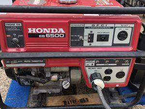 Generator- Honda EB6500 for Sale in Philadelphia, PA