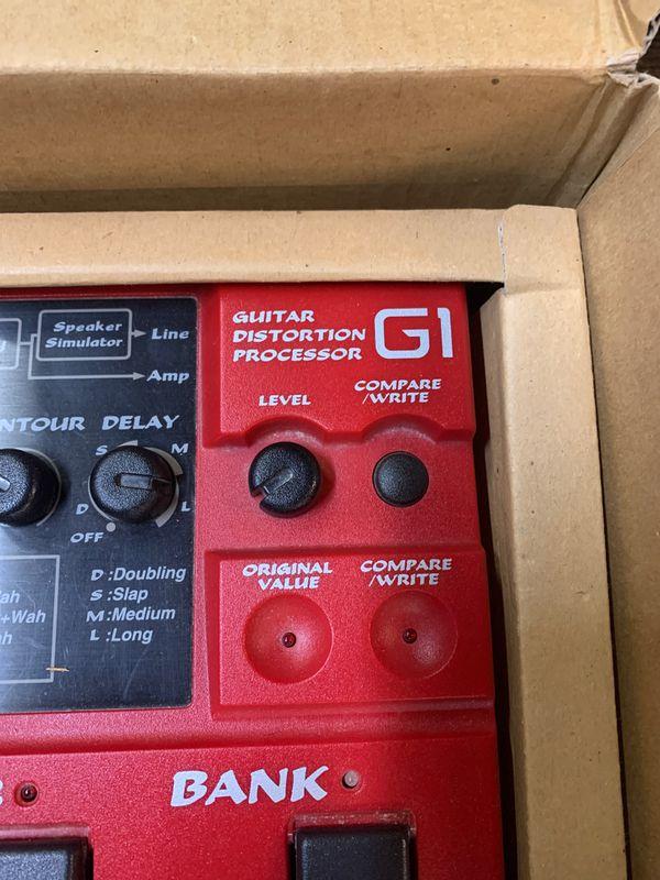 Guitar Processor $120