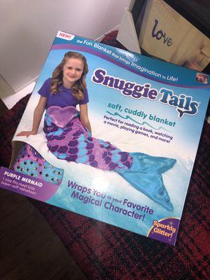 Snuggie Mermaid Tail Blanket REDUCED for Sale in San Diego, CA