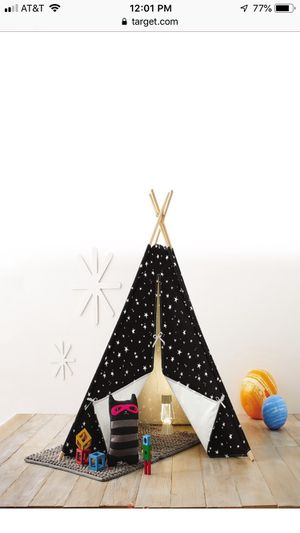 Kids tents teepees birthday party gifts sleepovers camping brand new for Sale in Marcus Hook, PA