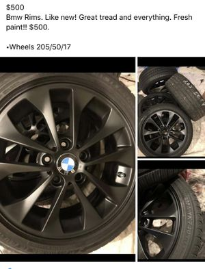 Bmw wheels, new tires!!! $500 for Sale in Bothell, WA