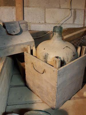 Antique Blue Glass Milk Jug for Sale in Turbotville, PA