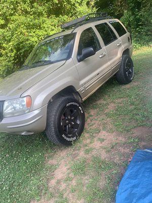 2001 Jeep Grand Cherokee limited for Sale in Molena, GA